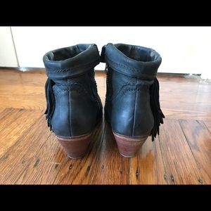 3e2650caebf62 Sam Edelman Shoes - Sam Edelman Louie Leather Tassel Ankle Boots Sz 7